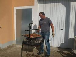 Mike grillt für uns