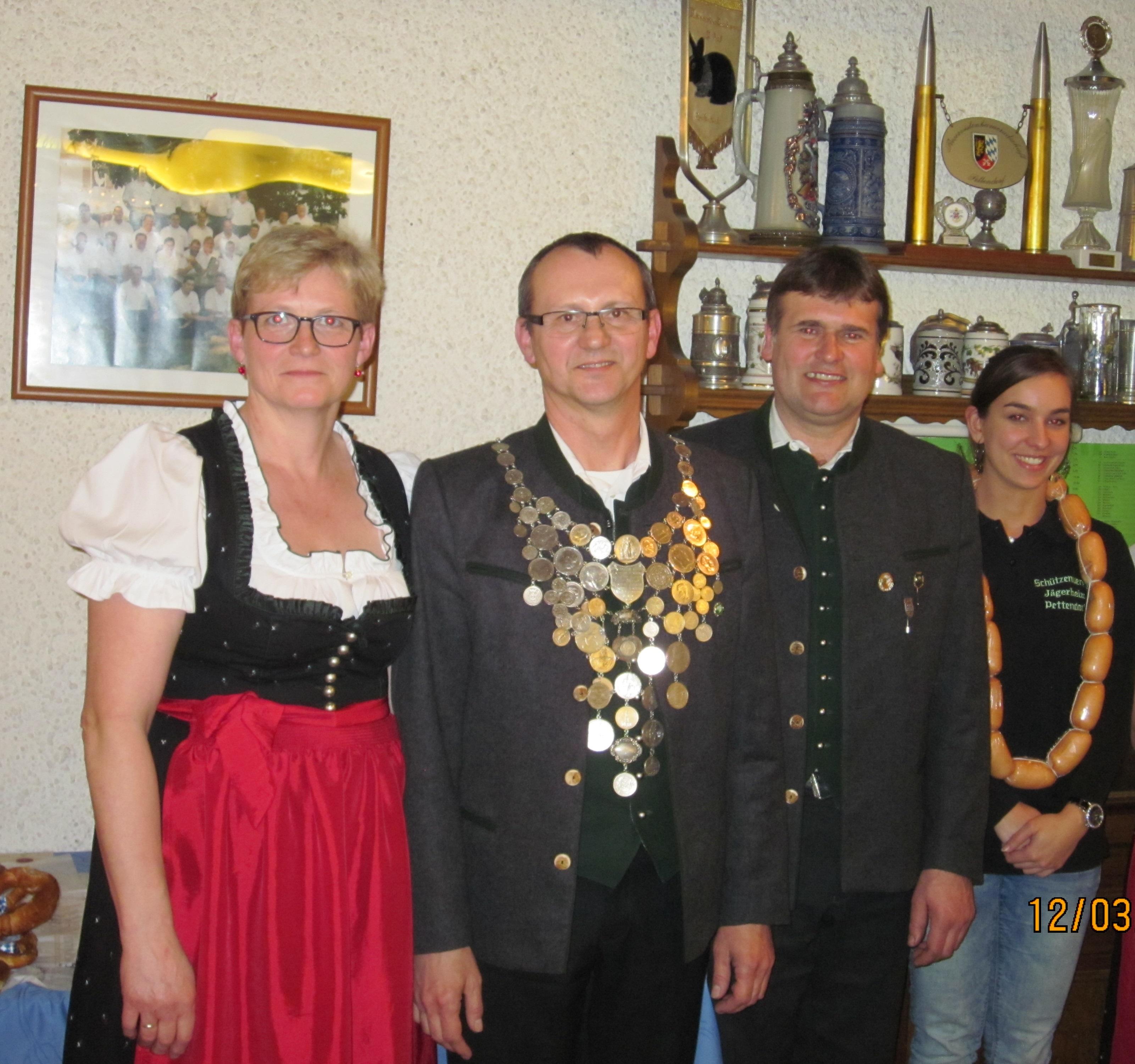 1. Schützenkönig Ernst Ertl