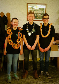 die drei Jugendkönige '17