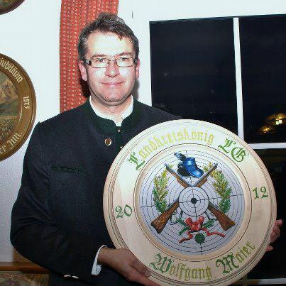 unser Landkreiskönig 2012