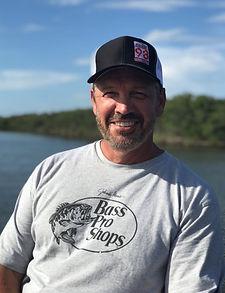 Wally Dallenbach fishing