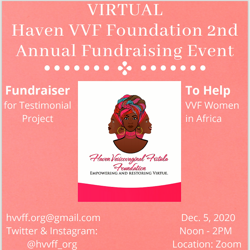 Haven VVF Foundation 2nd Annual Event - Virtual