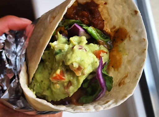 Amazing Vegan Burrito & Guacamole Recipe
