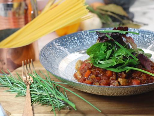 Amazing Vegan Spaghetti Bolognese Recipe