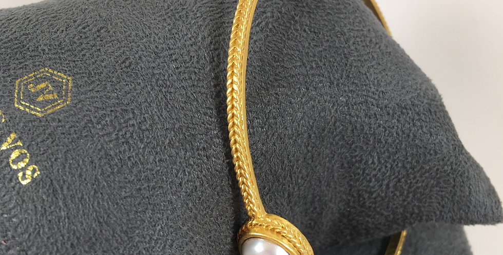 Calypso Pearl Bangle
