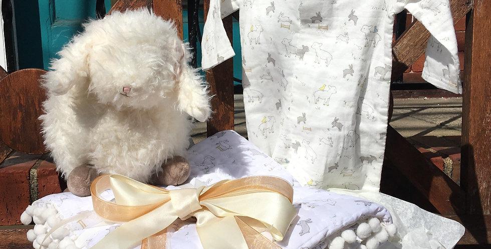 Little Lamb Gift Basket