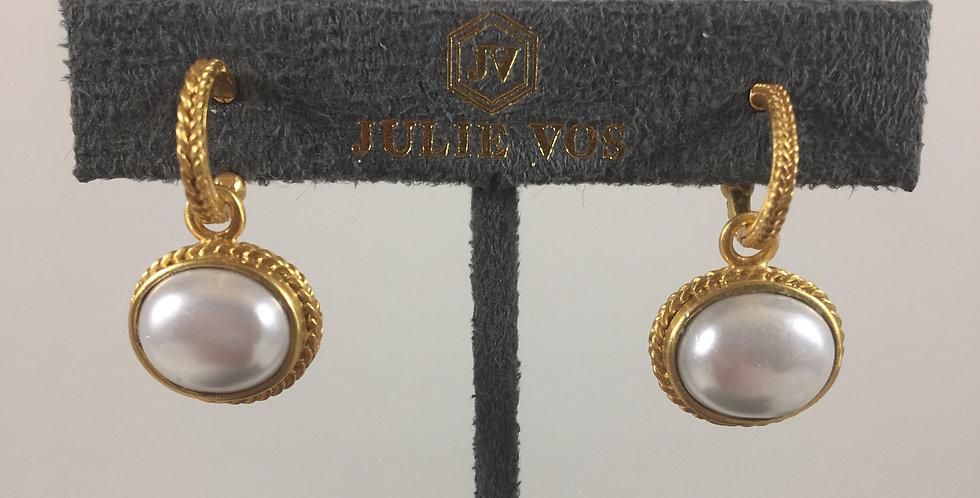 Calypso Hoop & Charm Earrings