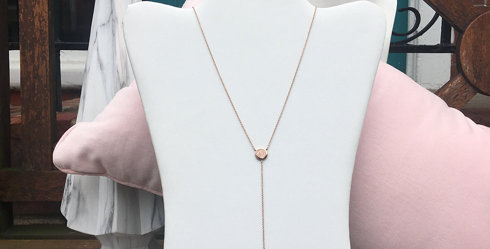 Geometry Y Necklace