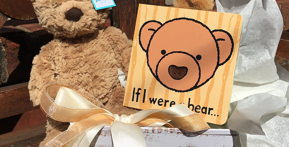 Bumbly Bear Gift Basket