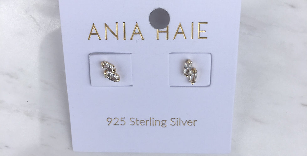 Glow Stud Gold Earrlings