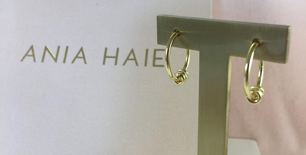 Modern Hoop Earrings Gold