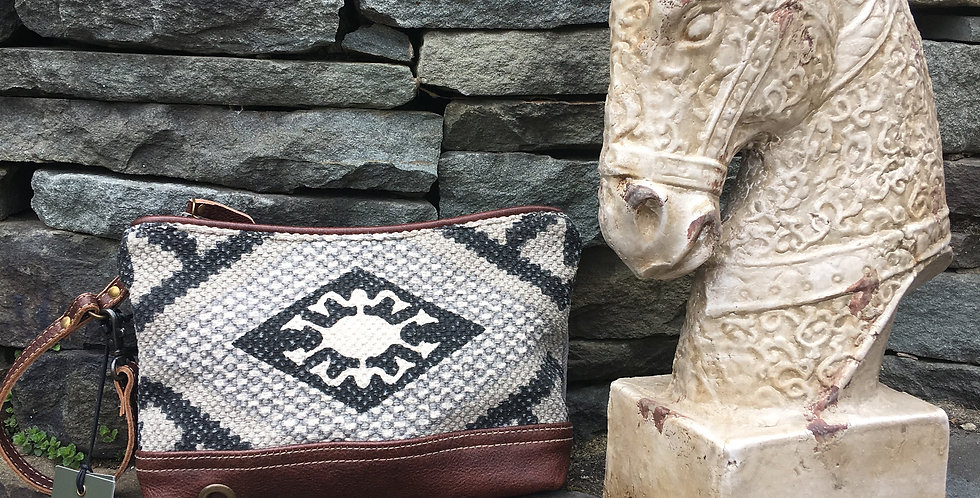 Aztec Pouch and Wristlet