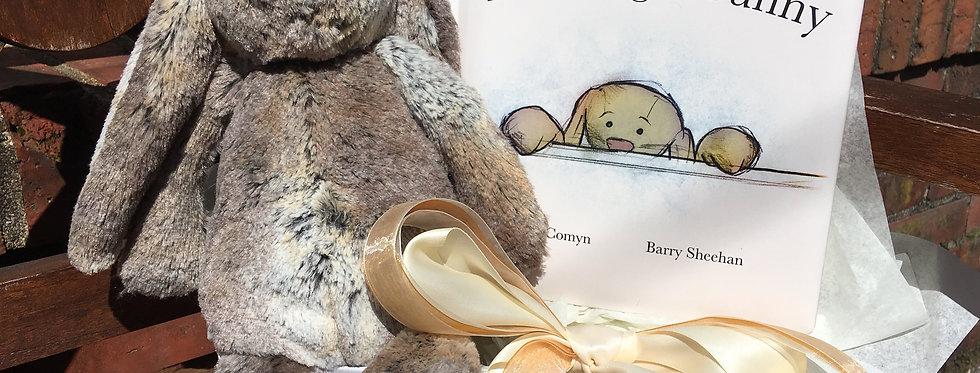 Bashful Woodland Bunny Gift Basket