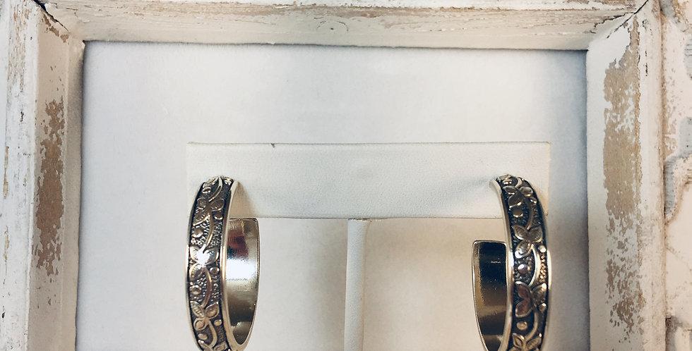 Udaipur Palace Hoop Earrings