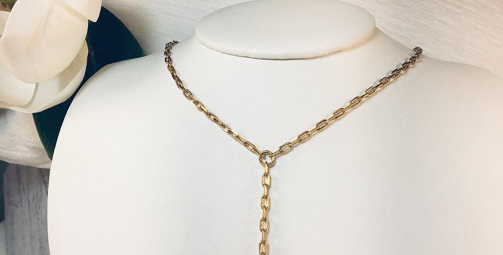 Meridian Y Petite Necklace