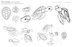 The Intruder - sea turtle plush concept