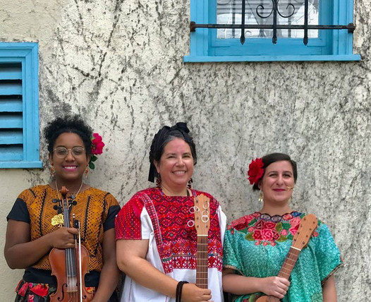 Left to right: Randella Jones, Maria De La Rosa, Marina Romani