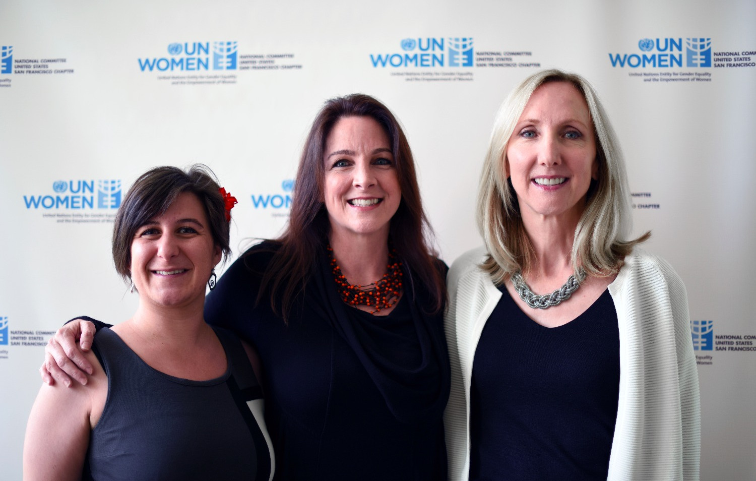 Global Voices Film Festival 2016. Left to right: Marina Romani, Amy Logan, Carolyn Wright © Vivian Vivas