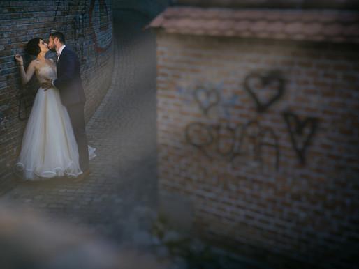 Nicoleta si Dinu, sedinta foto dupa nunta la Sibiu