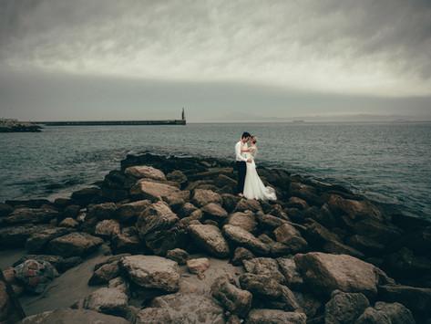 Afterwedding session in Tarifa, Costa de la Luz, Spain