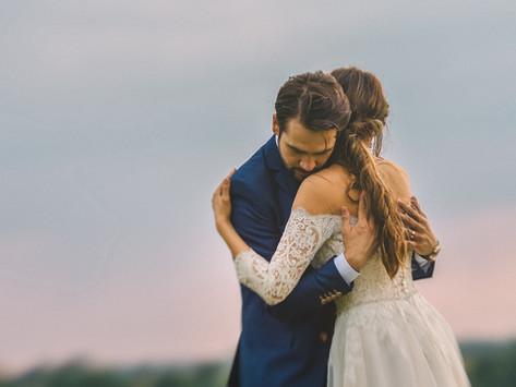 Rebeca and Iosif, wedding day