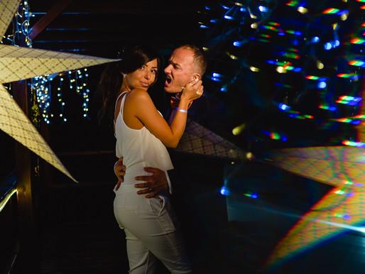 Alexandra & Richard, wedding day. Wild night, beautiful people
