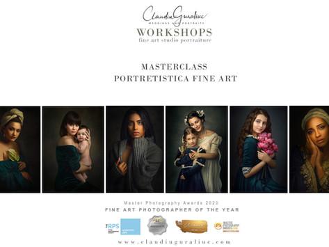 Masterclass de Portretistica Fine Art - concept si prezentare