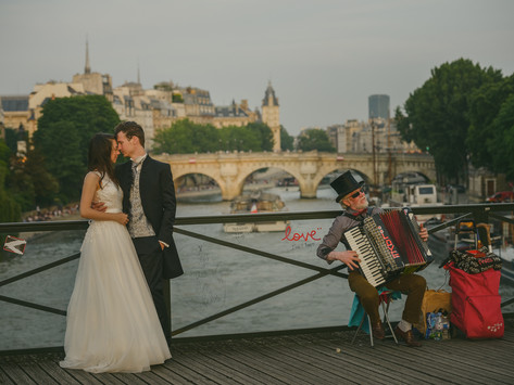 Paula & Marcel, Paris after wedding shoot