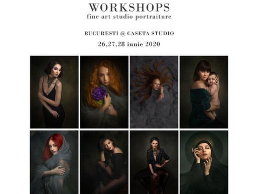 Workshop de portretistica, Bucuresti 26-28 iunie 2020