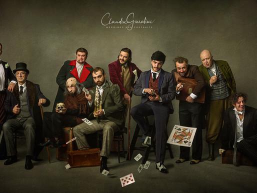 Portret de grup compozit - de la concept la edit