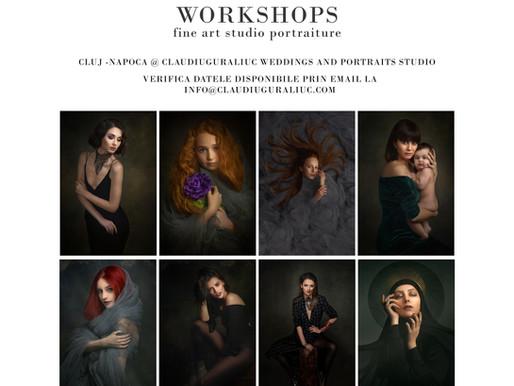 Ateliere de o zi - fotografie de portret -  introducere in portretistica fine art