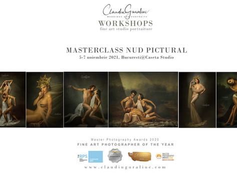 Atelier de Nud Pictural   Bucuresti, 5-7 noiembrie 2021@Caseta Studio