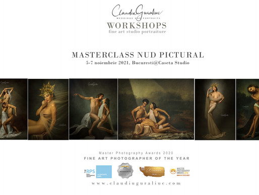 Atelier de Nud Pictural | Bucuresti, 5-7 noiembrie 2021@Caseta Studio