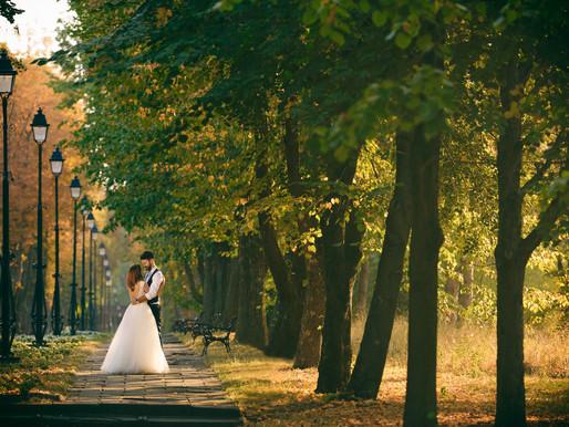 Sedinta foto dupa nunta la Iasi