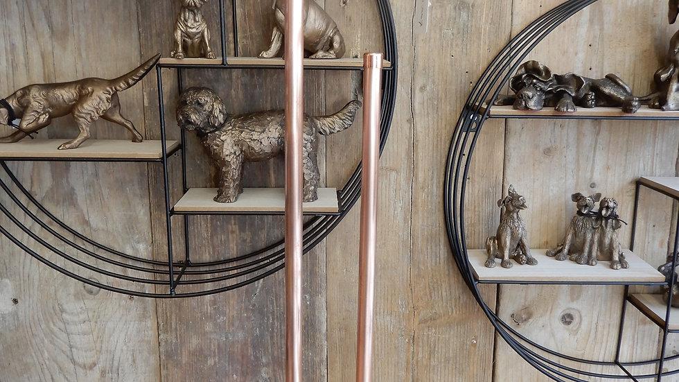 Copper Pipe Toilet Butler