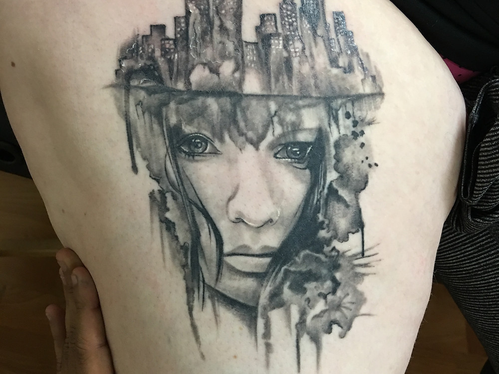 Conceptual Tattoo (Healed) by Robin Patel