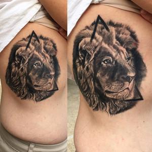 Realistic Lion Tattoos