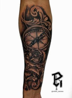 Rose clock