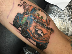 Tow mater tattoo