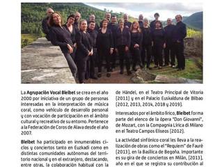 XXII JORNADAS INTERNACIONALES DE MÚSICA CORAL DE ASTILLERO-GUARNIZO 2019