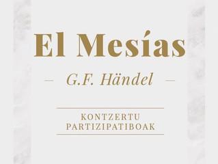 BLEIBET cantará de nuevo en el Euskalduna el Mesías de Händel