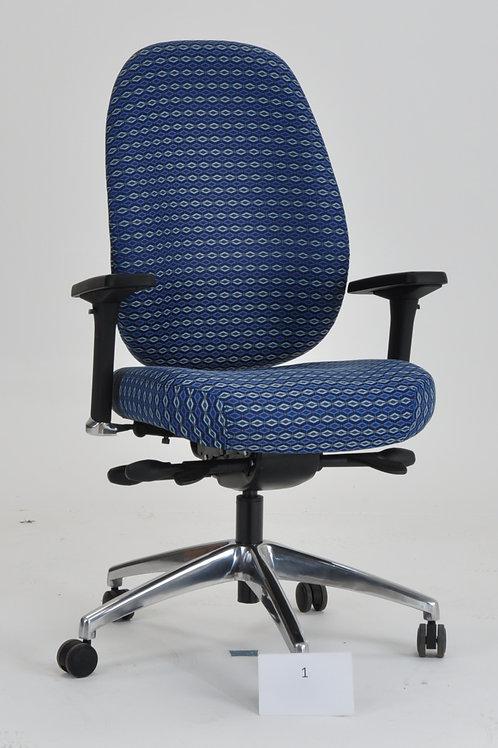 Blue Contour II Task Chair
