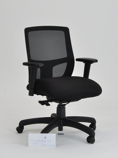 Edu2 Task Chair in black