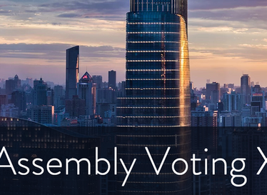 Assembly Voting X - Testpanel