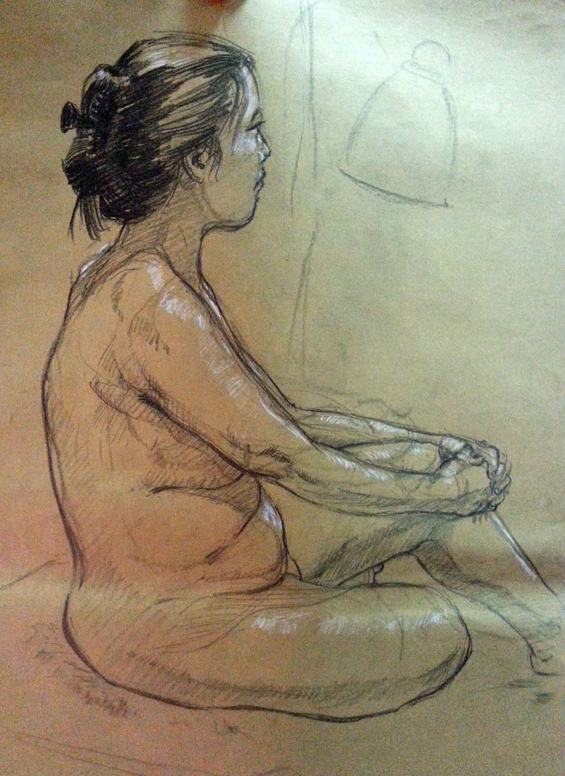 Singaporean life drawing