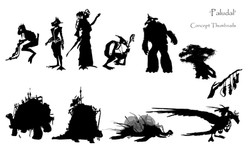 Paludal Silhouettes revised