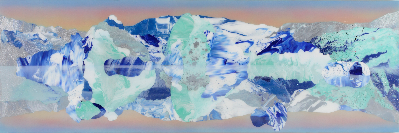 Kate Shaw Hulda 2013 acylic and resin on
