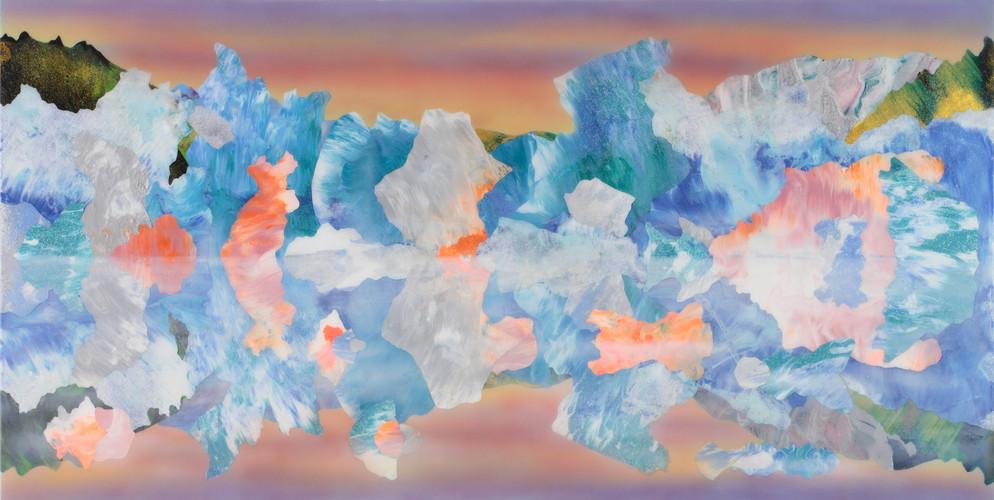 Kate Shaw Ferli 2013 acylic and resin on