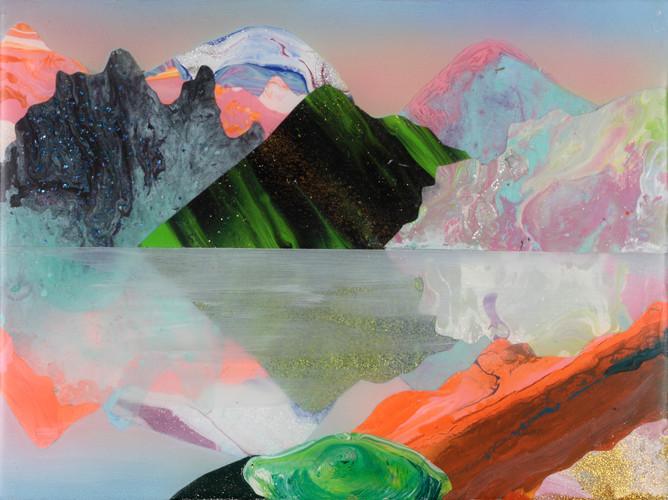 Kate Shaw Heimur 2013 acylic and resin o
