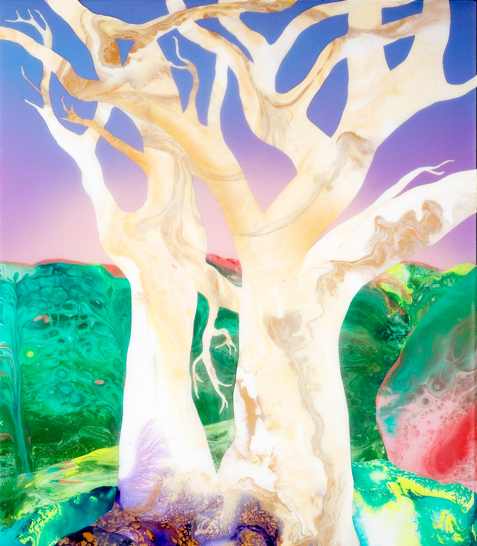 Kate Shaw Once Were Trees 2006 acrylic a